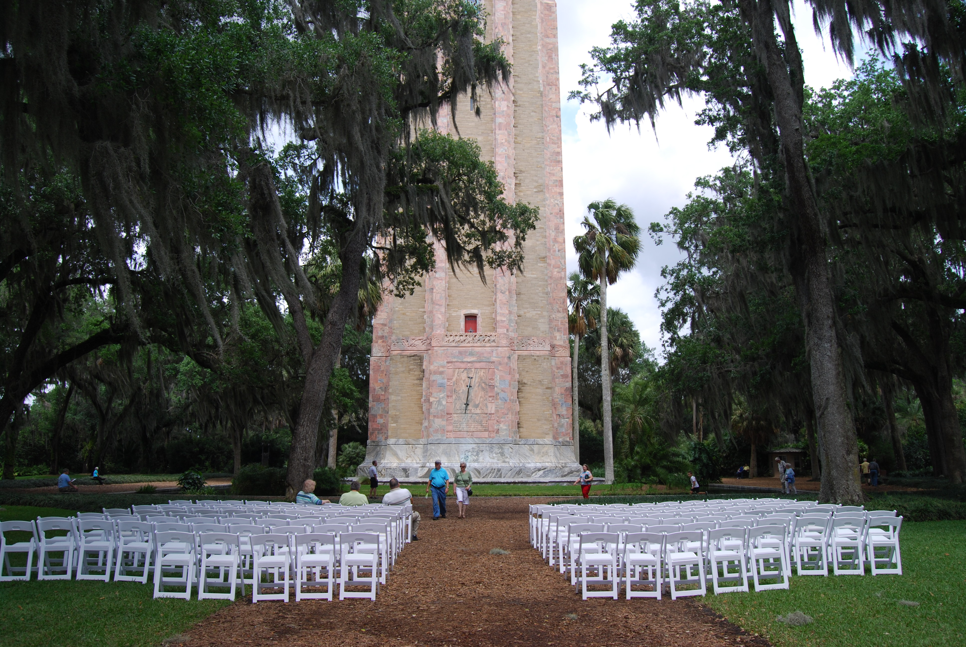Bok tower gardens wedding